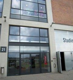 Katvig showroom i Filmbyen Aarhus Harbour