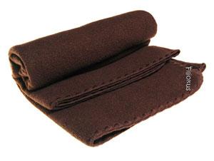 Junior tæppe i flot brun!