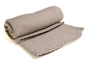 Junior tæppe i flot grå